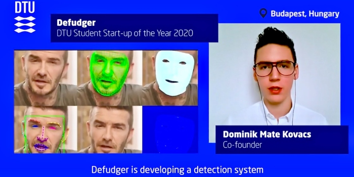 Defudger is DTU startup of the year 2020